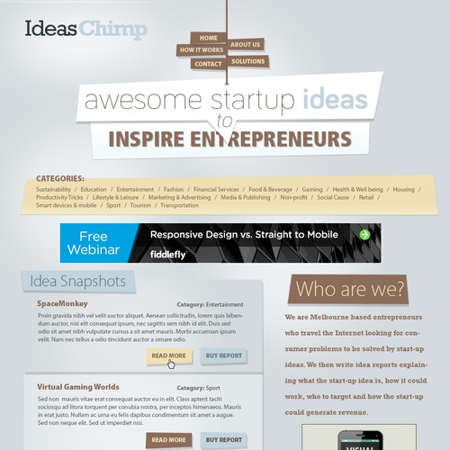 separation shoes f652f 83111 IdeasChimp - 'awesome startup ideas to inspire entrepreneurs ...