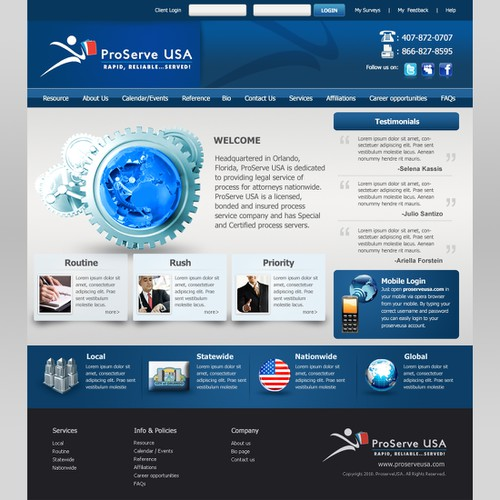 Meilleur design de webistyle