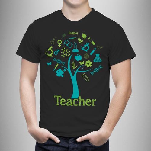 1c9eb9e2 Create a Tshirt design for biology teachers | T-shirt contest
