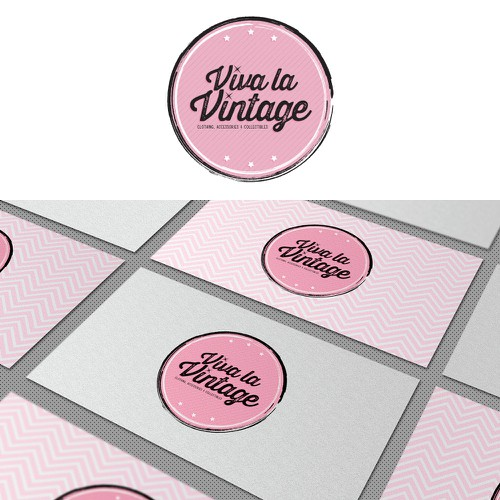 Update logo for Vintage clothing & collectibles retailer for Viva la Vintage Design by eatsleepbreathe.design