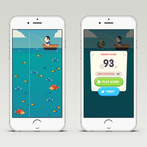 Fishing IPhone Game - VERY FUN!