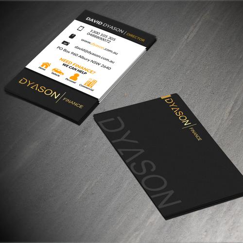 creative business card design needed need modern classy