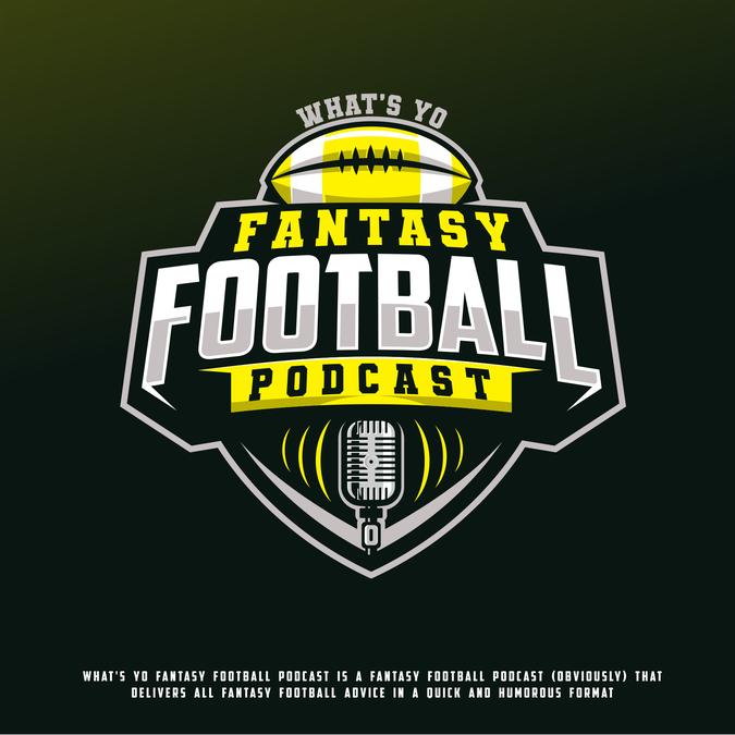 What's Yo Fantasy Football Podcast needs a POWERFUL New Logo