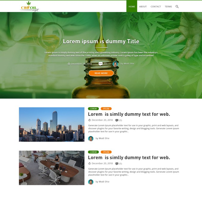Winning design by DesignFits Solutions
