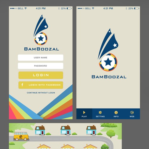 Runner-up design by YusakG.F.X