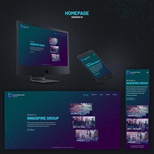 Diseño finalista de pixelwebplanet