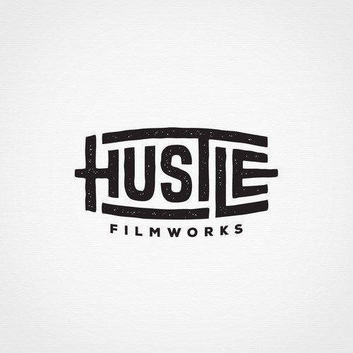 Bring your HUSTLE to my new filmmaking brands logo! Design by Arda