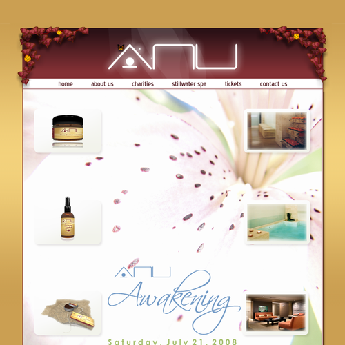 Runner-up design by Allure