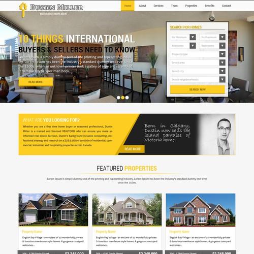 Diseño finalista de webosolutions