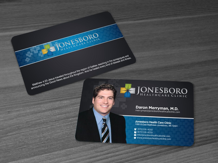 Help jonesboro healthcare clinic with a new stationery stationery winning design by rakajalu99 reheart