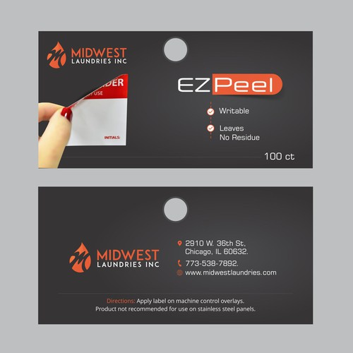 Runner-up design by Dzine Solution