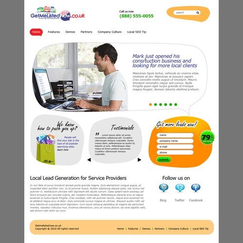 Diseño finalista de WebFlexStudio