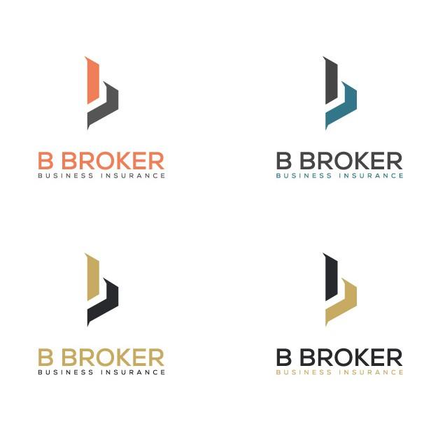 Carte De Visite B Broker Design Gagnant Kibriachowdhury
