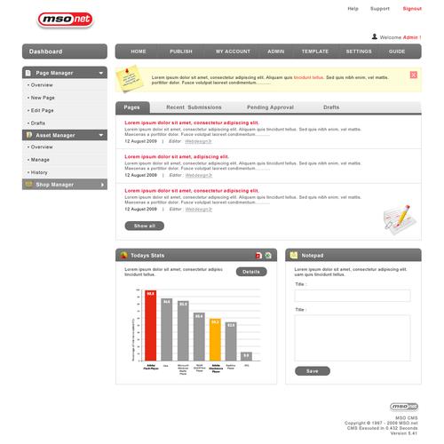Zweitplatziertes Design von webdesign3r