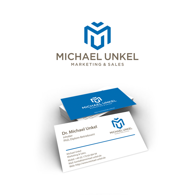 Marketing Sales Logo Und Visitenkarte Wettbewerb