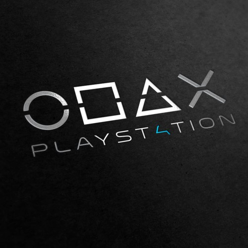 Community Contest: Create the logo for the PlayStation 4. Winner receives $500! Design by jamestraf