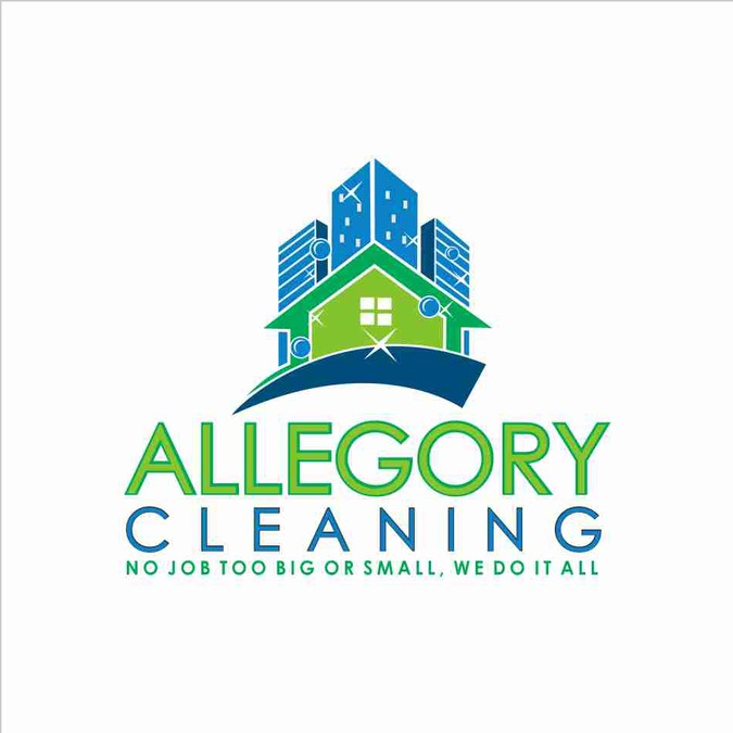 Create An Illustration For A Cleaning Company Logo