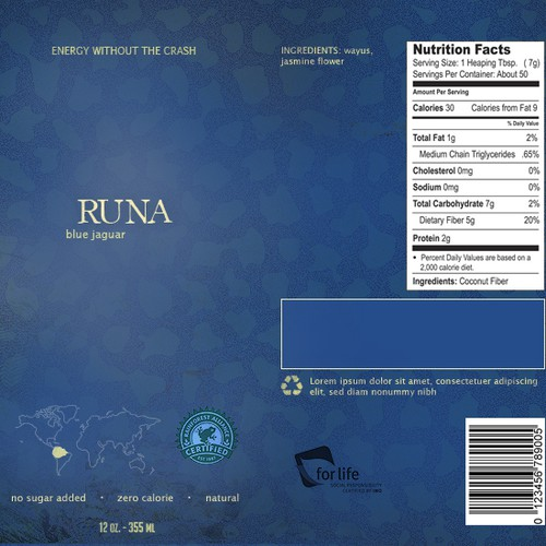 Runner-up design by octaine