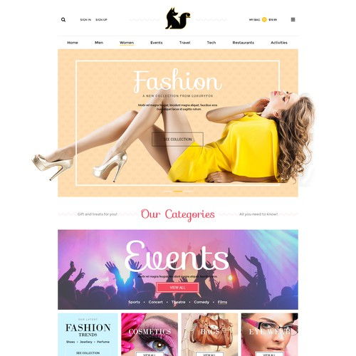 Diseño finalista de WebPlanex