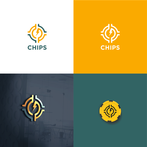 chips poker logo will be used in a great blockchain