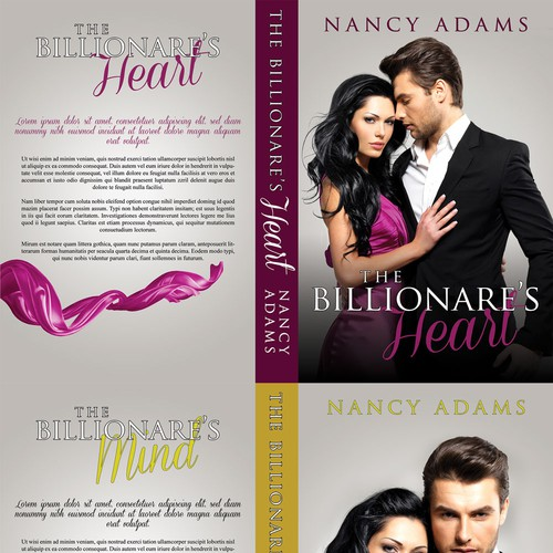 Create Appealing Romance Cover for New Billionaire Romance Trilogy! Design by Ana_R