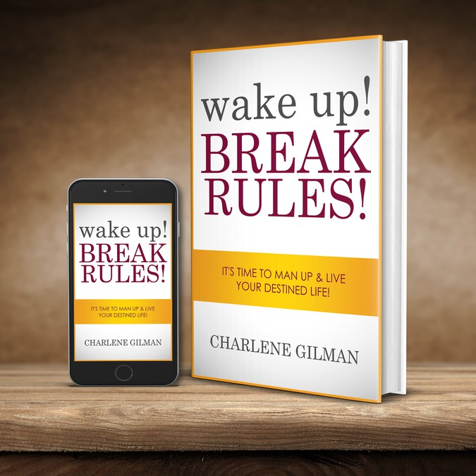 Book Cover Making Contest ~ Create an attention grabbing book cover for wake up break