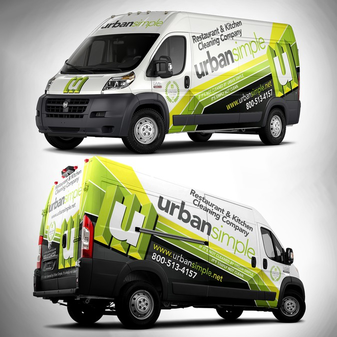 540c750734 ... Van Wrap for URBAN SIMPLE. Winning design by adelea