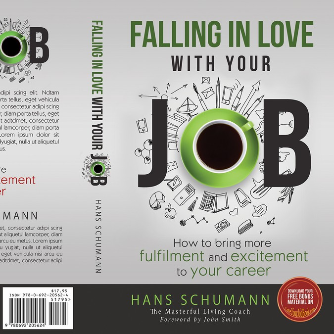 Book Cover Designing Jobs ~ Create a cover for my book falling in love with your job
