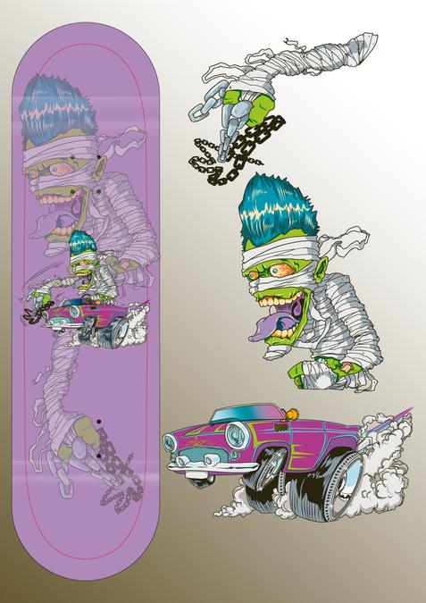 Design gagnant de dibu