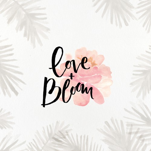 Create a beautiful Brand Style for Love + Bloom! Design by ananana14