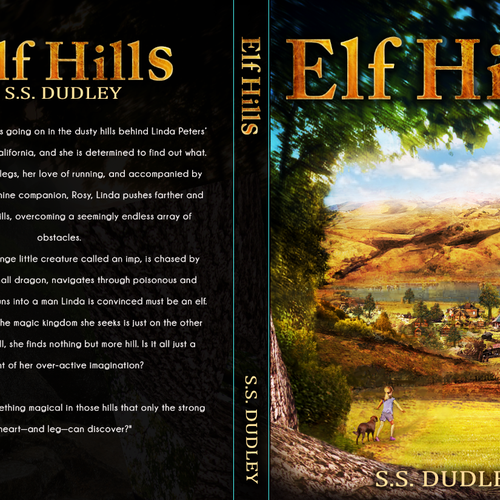 Book cover for children's fantasy novel based in the CA countryside Design by Marco Rano