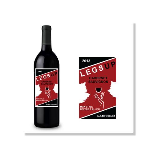 Legs Up 2013 Vintage Wine Label Design by ANGEL A.