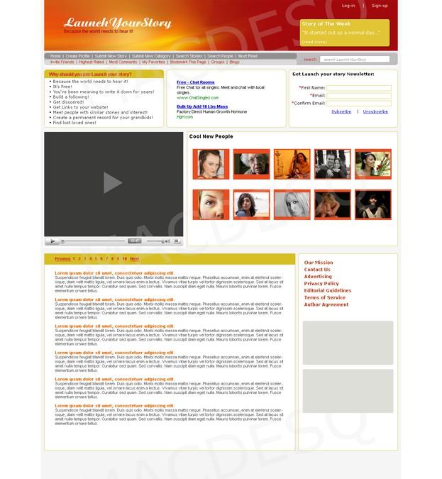 Diseño ganador de JMDwebdesign