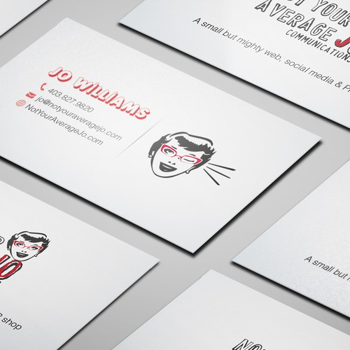 Create a cheeky, fun business card Design by Zetka