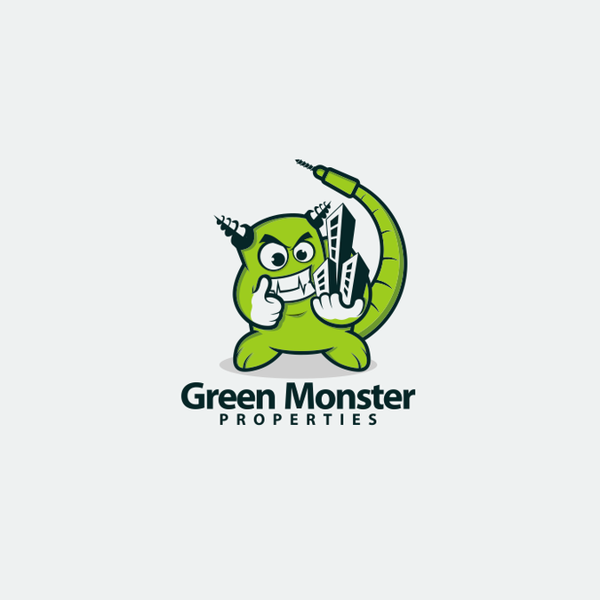 the gallery for gt green monster logo from 90s