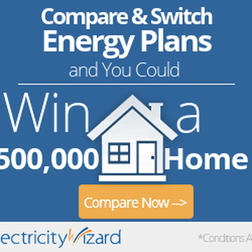Electricitywizard win a home banner ad contest for Win a home contest
