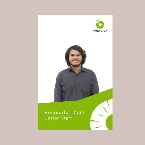 Design finalista por Pinandito Ilham
