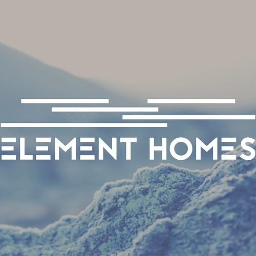 Modern/Contemporary home builder logo | Logo design contest