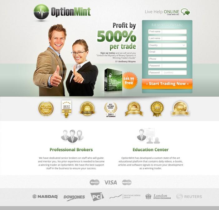 Winning design by DesignUp
