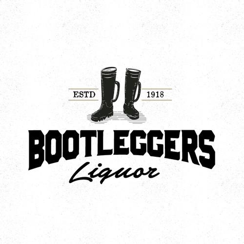 Bootleggers Liquor Store custom logo | Logo design contest