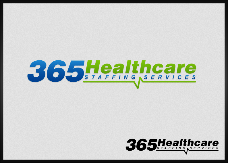 logo for 365 Healthcare Staffing Services | Logo design contest
