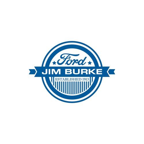 Jim Burke Ford Logo Logo Design Wettbewerb