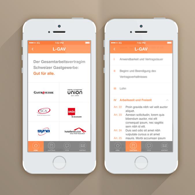 Design gagnant de CalmSpark App Design