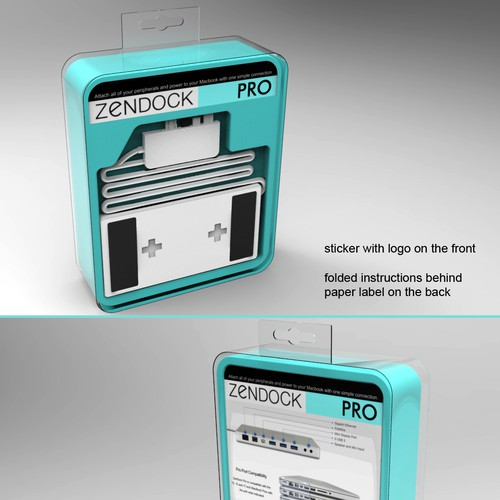 Zenboxx - Beautiful, Simple, Clean Packaging. $107k Kickstarter Success! Design by Creative Paul