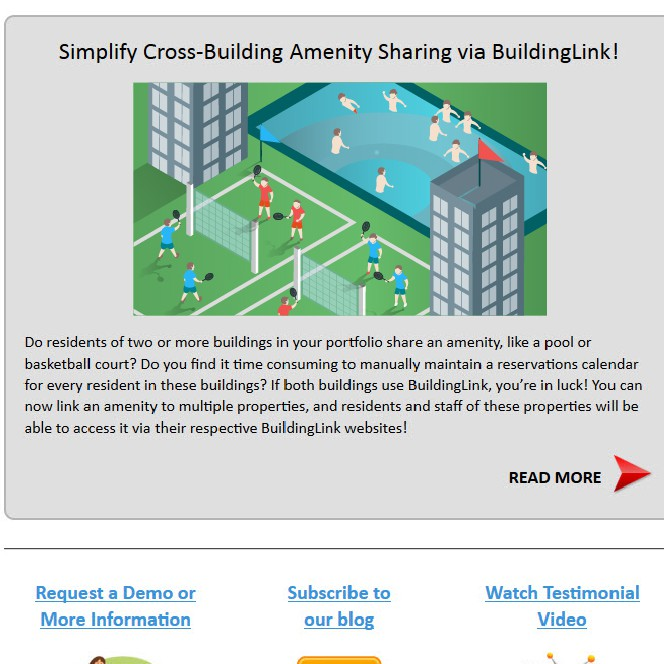 Create 3 graphics for an email newsletter for BuildingLink.com | Illustration or graphics contest