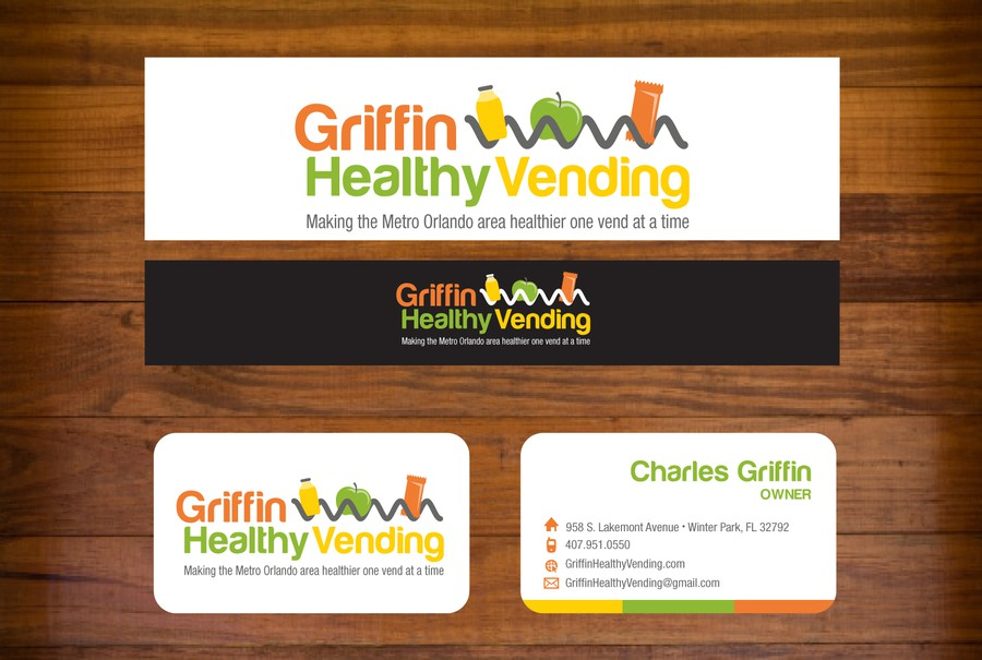 Help Griffin Healthy Vending with a new logo and business card ...