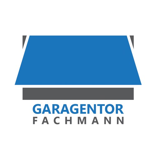 handwersfirma f r garagentore einbau wartung reparatur sucht logo logo design wettbewerb. Black Bedroom Furniture Sets. Home Design Ideas