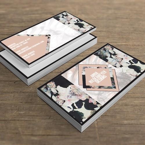 Create a beautiful designer business card Design by elliepreston