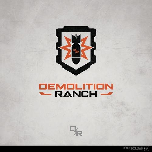 Design For Famous Youtube Star Demolition Ranch Logo Design Contest 99designs