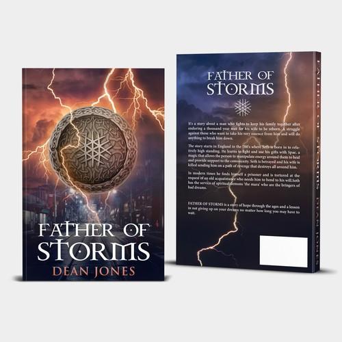 Diseño finalista de A to Z Book Cover Design